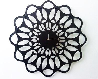 金属钟表成品展示